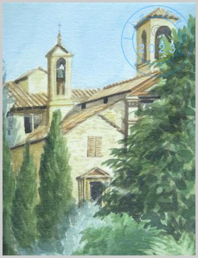 Church, Montalcino, Tuscany